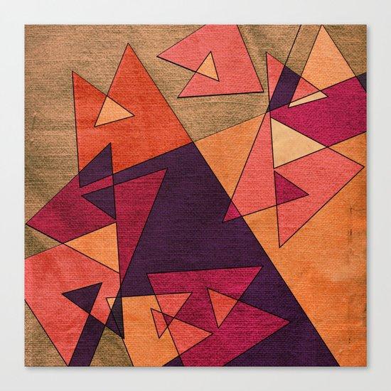 Earth Geometry 02 Canvas Print