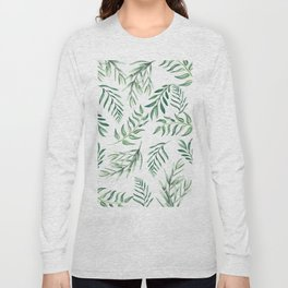Floating Leaves #society6 #buyart Long Sleeve T-shirt