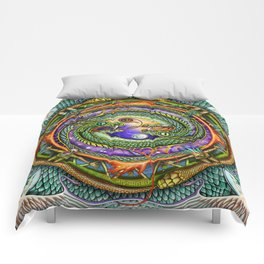 Snake Oil & Harmony Comforters