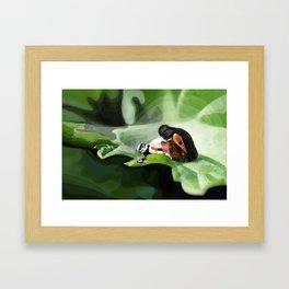 The strength of nature Framed Art Print