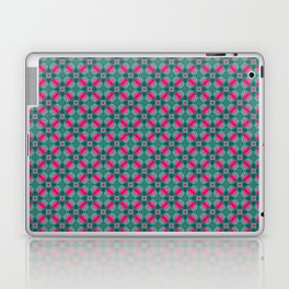 Indian Inspiration In Pink and Green Laptop & iPad Skin