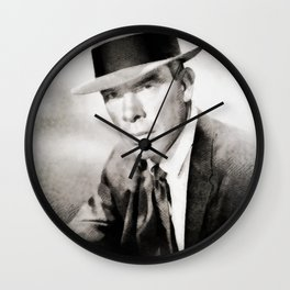 Lee Marvin by JS Wall Clock