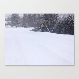 Winter Streets Canvas Print