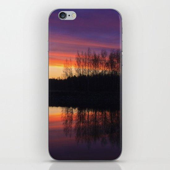 lake in Finland at early night 3 iPhone & iPod Skin