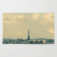 Paris In Blue Rug