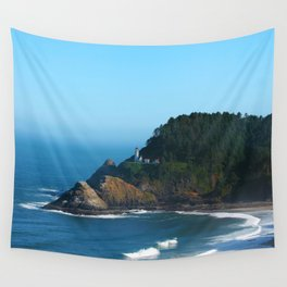 West Coast Lighthouse Wall Tapestry