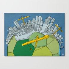 Brazilization Canvas Print