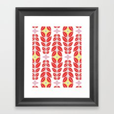 Cortlan | Cherry Red Framed Art Print