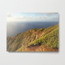 Morning On Koko Head Crater Ridge Metal Print