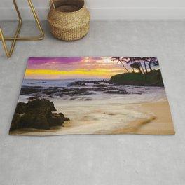 Paako Beach Sunset Jewel Rug