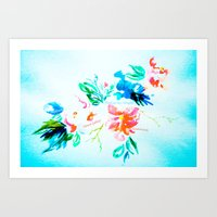 Flower Galaxy Art Print