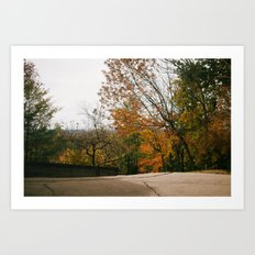 Atop Holy Hill Art Print