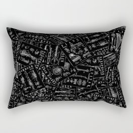 Musical Instrument Vintage Patent Pattern Rectangular Pillow