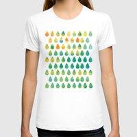 rain T-shirts featuring Monsoon Rain by Picomodi