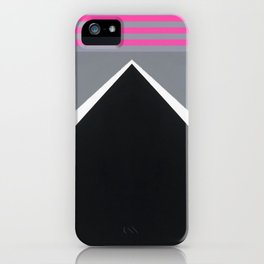 August - mirror pink iPhone Case