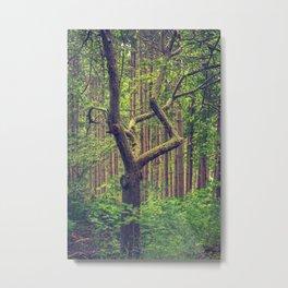 The Diamond Tree Metal Print