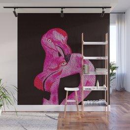 Flamingo Art print Wall Mural