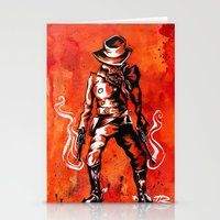 western Stationery Cards featuring Western by Tom Ryan