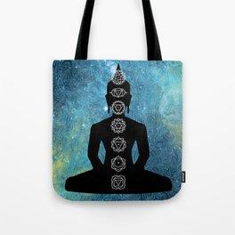 Sacred Geometry - Chakras Aligned Tote Bag