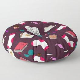 Winter Snuggles Floor Pillow
