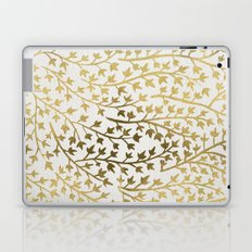 Gold Ivy Laptop & iPad Skin