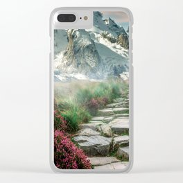 Fabulous Road Trip Clear iPhone Case