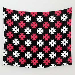 Hashtag Pattern Wall Tapestry