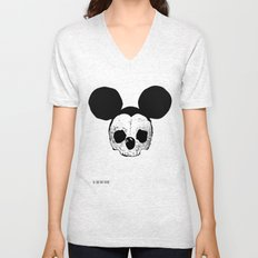 Dead Mickey Mouse Unisex V-Neck
