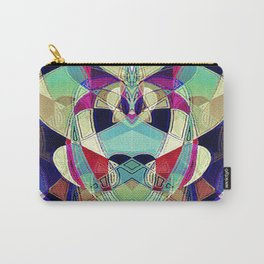 One With Many Faces Carry-All Pouch