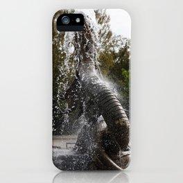 Trelleborg Seeschlangen Brunnen iPhone Case