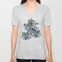 """Field of Lavender"" Unisex V-Neck"