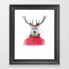 Cerf Framed Art Print