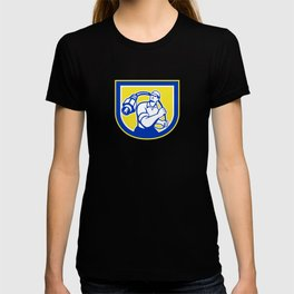 Cable Guy Wielding Coaxial Cable Shield T-shirt