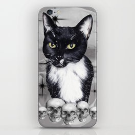 Witches Cat iPhone Skin