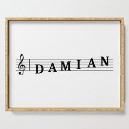 Name Damian Serving Tray
