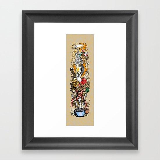Breakfeast! Framed Art Print