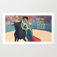 King of Spain Art Print