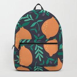 Fresh Orange Summer Backpack