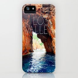 The lost valley iPhone Case