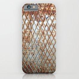Rusty Grate iPhone Case