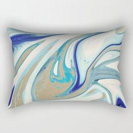 agate slice, geode art, geode agate, agate art, contemporary art, abstract geode, abstract art Rectangular Pillow