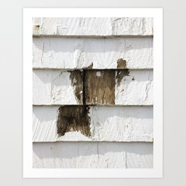 Chipped Paint - Eastern Seabord Art Print