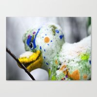 duck Canvas Prints featuring Duck  by LoRo  Art & Pictures