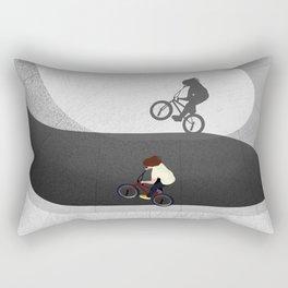 BMX | Skatepark From Above  Rectangular Pillow
