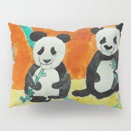 Pandas Pillow Sham