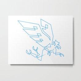 Garuda Flies Metal Print