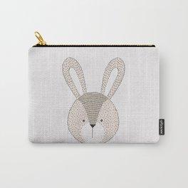Rabbit Cute Woodland Animals Nursery Carry-All Pouch