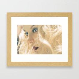 Fatima Flame Framed Art Print