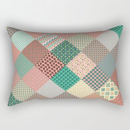CRAZY QUILT Rectangular Pillow
