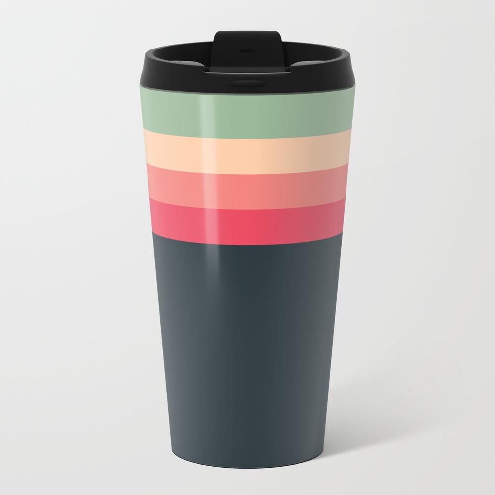 Retro Palette 3 Metal Travel Mug by Qmargot MTM8702448